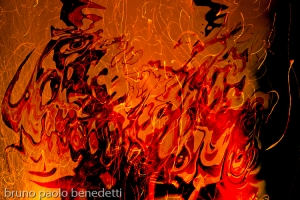 abstract shadows in abstrat fire flame
